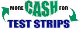 More Cash For Test Strips Logo